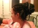 Micro rasta+silky dreads